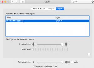 Mac Microphone