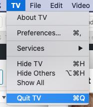 Quit TV