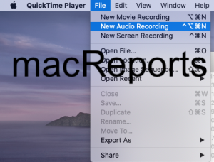 QuickTime Player New