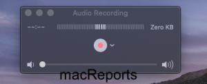 New recording