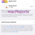 Apple ID payment method