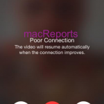 FaceTime Poor Connection Problem