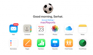 iCloud.com web app