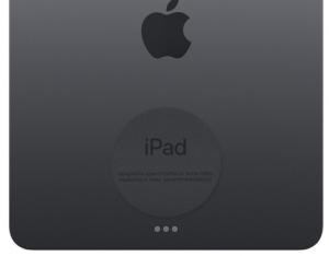 iPad serial number