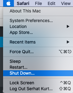 Mac Shut Down