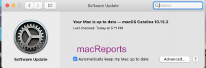 Mac Software Update