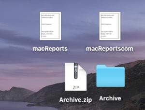 Unzip file