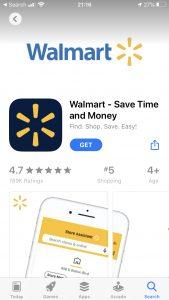 Walmart Pay App