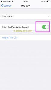 Allow CarPlay