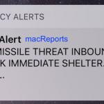 Emergency alert
