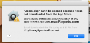 Zoom Install
