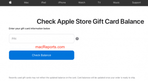 Apple Gift Card PIN