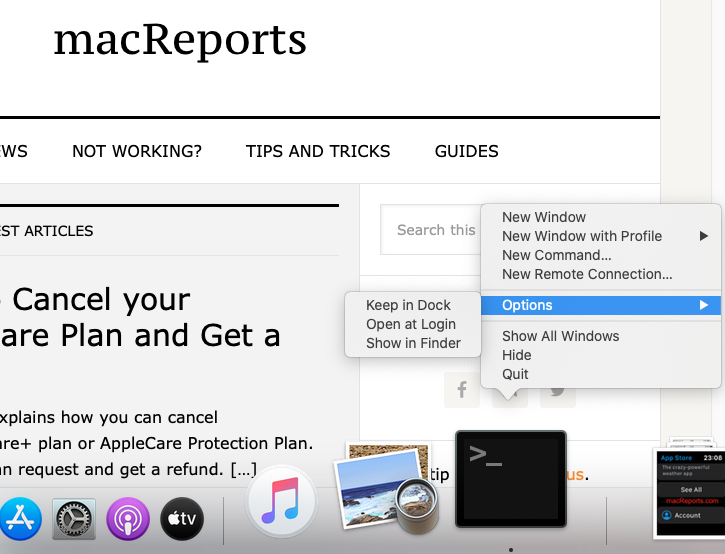 How to Open and Quit Terminal on Mac - macReports