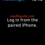 "Facebook Messenger keeps showing ""Log in from paired iPhone"""