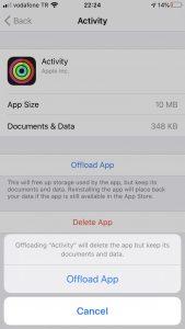 Reinstall Activity App