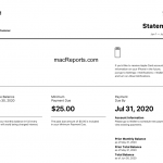 Apple Card Statement