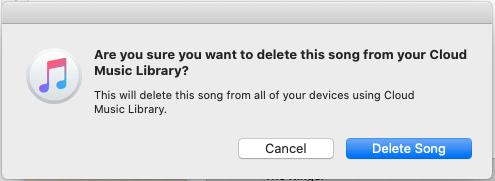 Delete Song