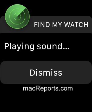 Find My Watch