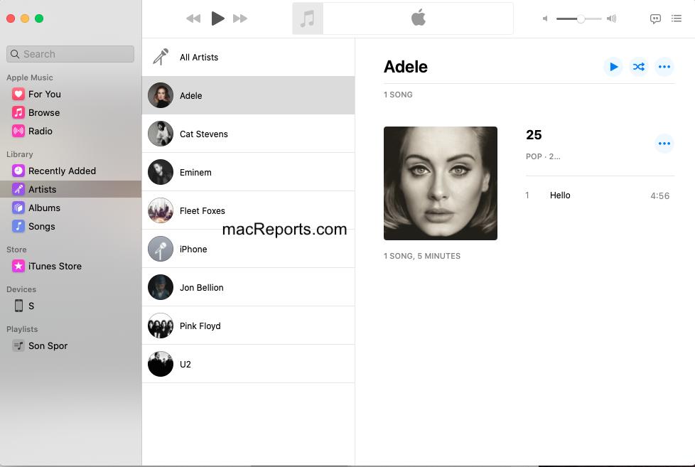Music App Mac
