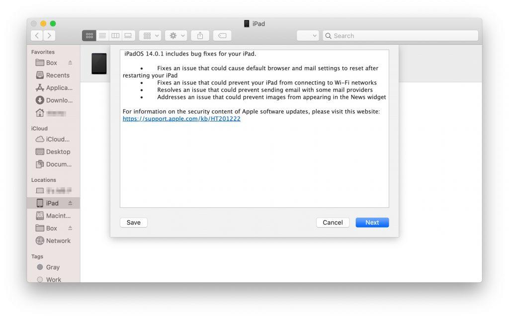about iPadOS