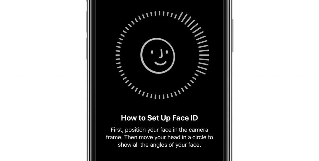 Face ID circle