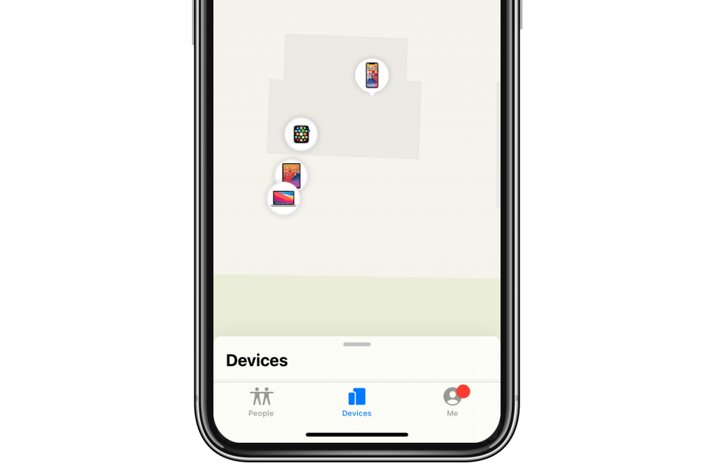 find my device map
