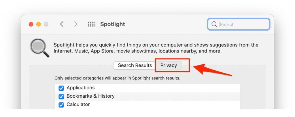 privacy in spotlight