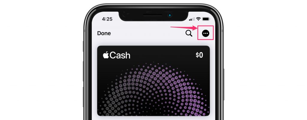Apple Cash card info