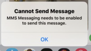 Cannot Send Message