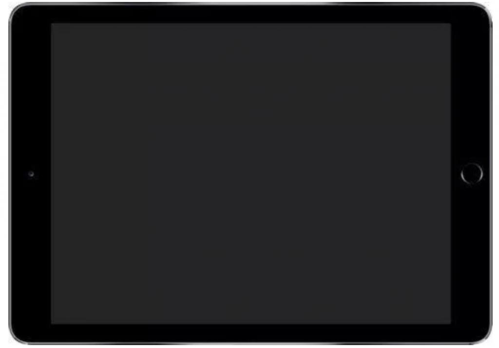 iPad Air Blank Screen