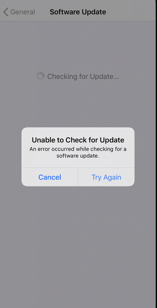 Software Not Updating