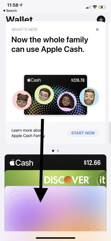 Tap Apple Card