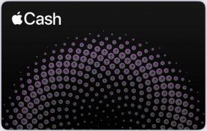 Apple Cash card