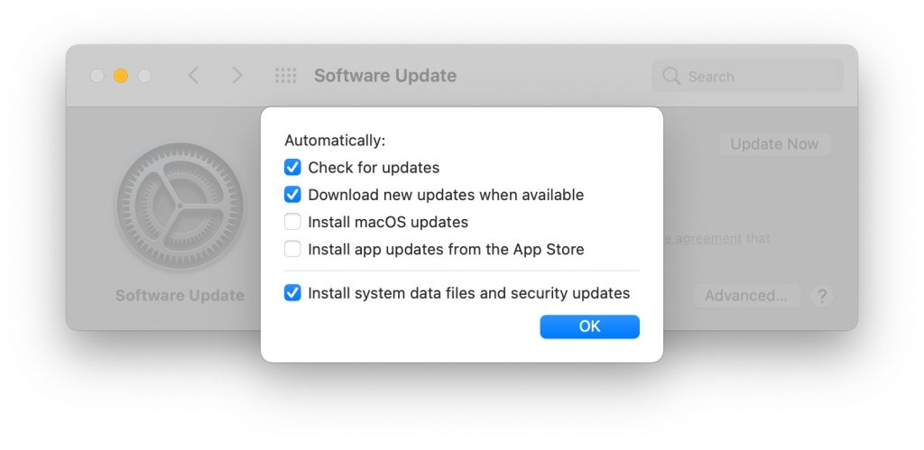 automatically check updates