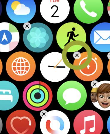 Delete Apple Watch apps