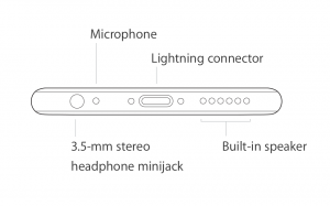 iPhone 6 bottom microphone