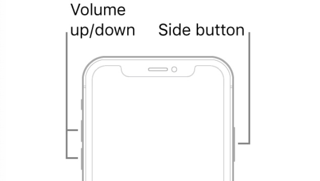 iPhone 8 later buttons