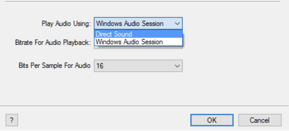 iTunes sound settings