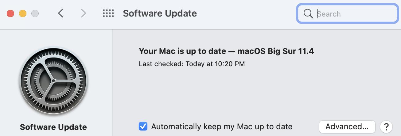 Update your Mac